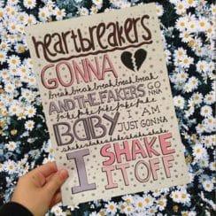 letras creativas para carteles a mano