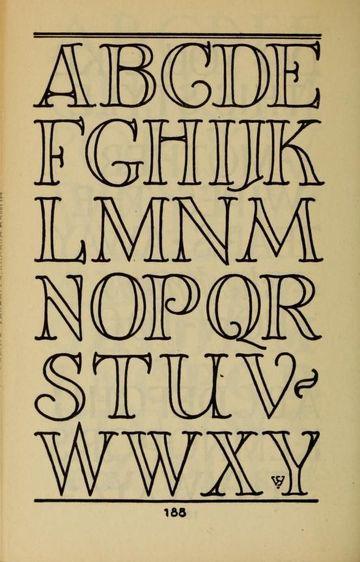 letras creativas para carteles modernas