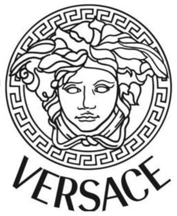 logos de moda y belleza versace