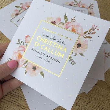 modelos de tarjetas de casamiento vintage