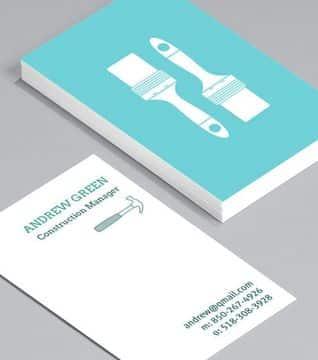 modelos de tarjetas de visita sencilla