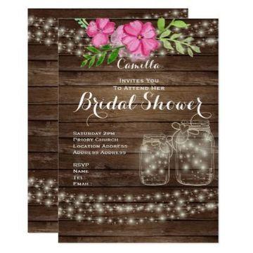 tarjetas de matrimonio para editar rustica