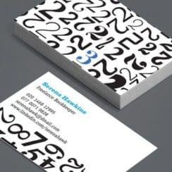 tarjetas de presentacion contador publico doble cara
