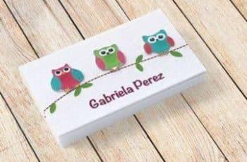 tarjetas de presentacion infantiles sencillas