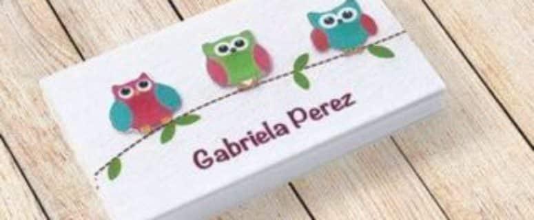 tarjetas de presentacion para niños para imprimir gratis | Tarjetas ...