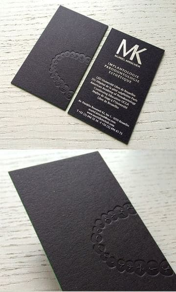 tarjetas de presentacion odontologia originales