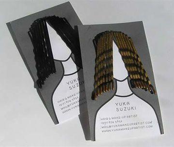 tarjetas de presentacion peluqueria creativa