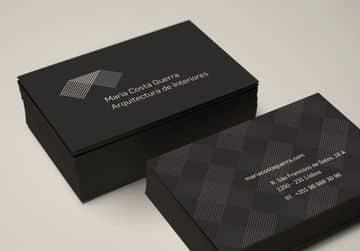 tarjetas de presentacion profesionales arquitectura