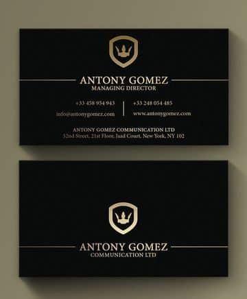 tarjetas de presentacion profesionales empresas