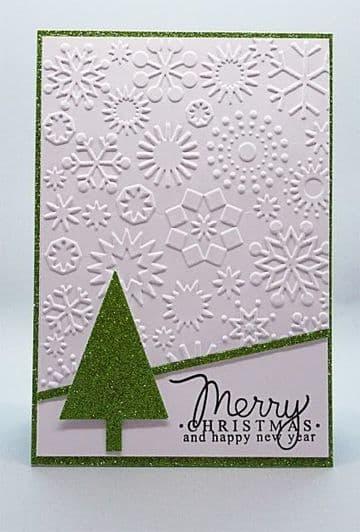 tarjetas en alto relieve de navidad