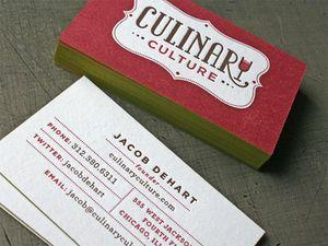 logos de tarjetas de presentacion para chef