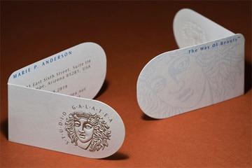 logos de tarjetas de presentacion vintage
