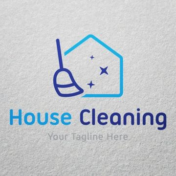 logos para empresas de limpieza de hogar