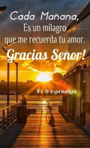 postales de agradecimiento a dios por cada mañana