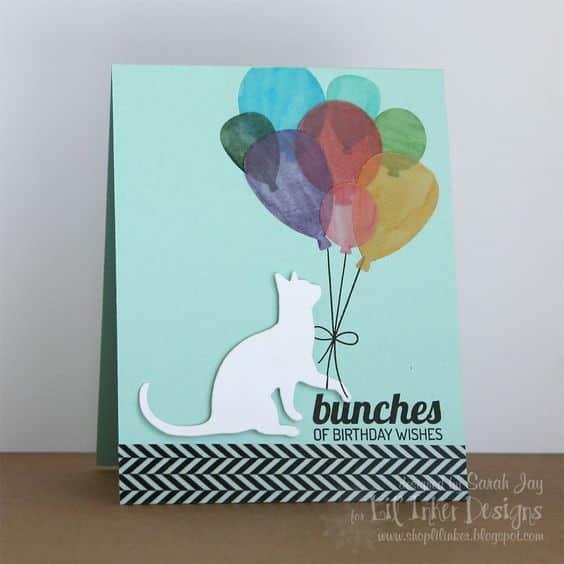 tarjetas de cumpleaños con gatos de felicitaciones