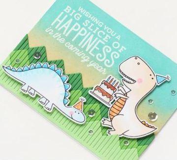 tarjetas de cumpleaños de dinosaurios impresas