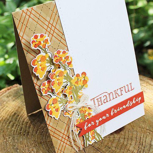 tarjetas de gracias por tu amistad hecha a mano