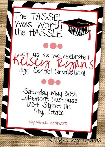 tarjetas de graduacion para imprimir invitacion