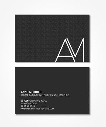 tarjetas de presentacion en serigrafia minimalista