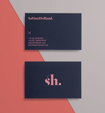 tarjetas de presentacion en serigrafia sencilla