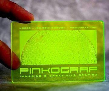 tarjetas de presentacion plasticas grabadas en laser