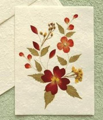 tarjetas en papel reciclado para cumpleaños