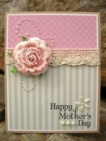 tarjetas para mamá en su dia hecha a mano