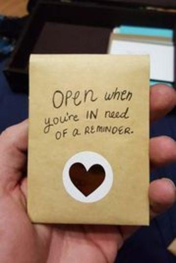 cartas de amor creativas hecha a mano