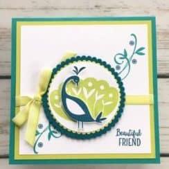como hacer tarjetas de amistad con cartulina