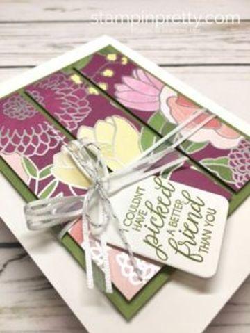 como hacer tarjetas de amistad pintada