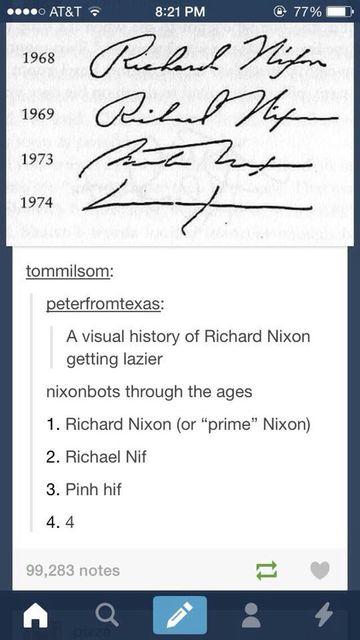 como puedo hacer mi firma a traves de los años