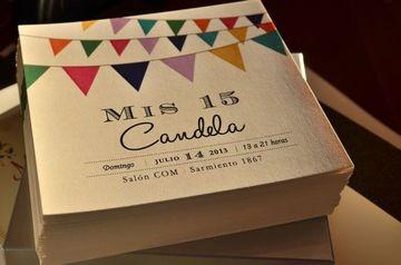 diseños de tarjetas para 15 años faciles de hacer