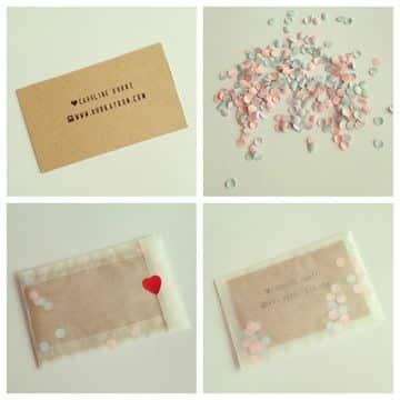 diseños para tarjetas personales hechas a mano