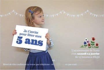 invitaciones infantiles originales para niñas