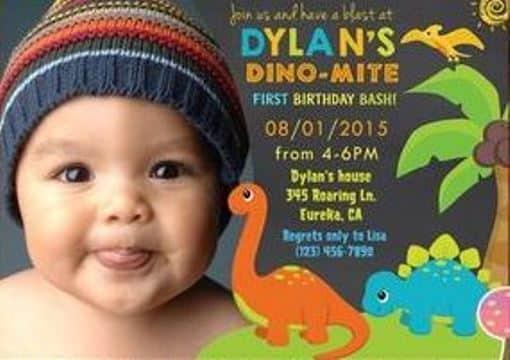 invitaciones para cumpleaños infantiles para niños