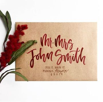 letras para invitaciones de boda a mano