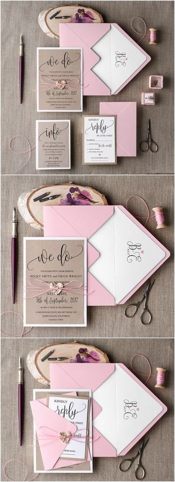 letras para invitaciones de boda elegante
