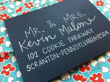 letras para invitaciones de boda facil