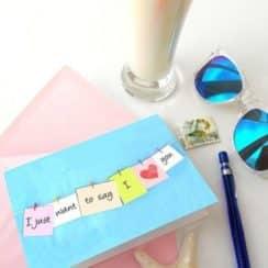 modelos de tarjetas de amor hecha a mano