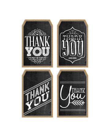 tarjetas de agradecimiento gratis en etquetas