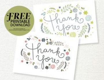tarjetas de agradecimiento gratis para descargar