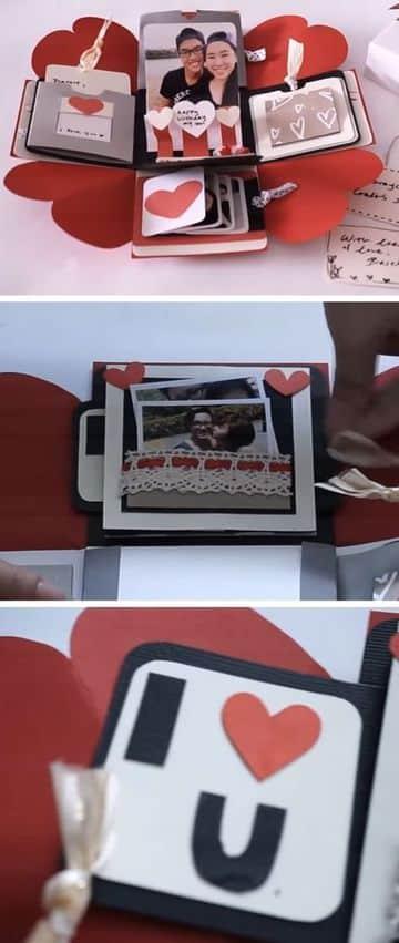 tarjetas de amor para novios hecha a mano