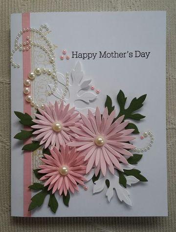 tarjetas de feliz dia de las madres con cartulina
