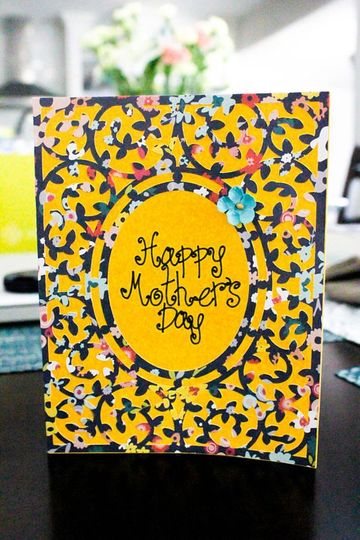 tarjetas de feliz dia mama de colores