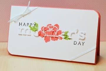 tarjetas de feliz dia mama letras cortadas