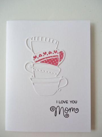 tarjetas para las madres en su dia en blanco