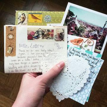 adornos para cartas de amor vintage