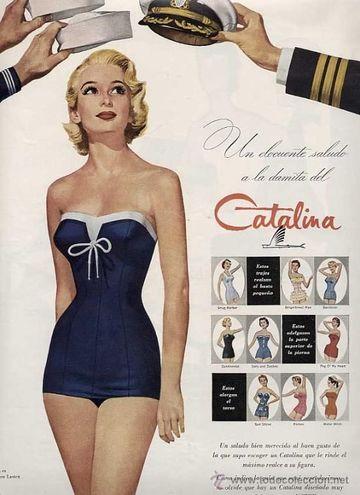 avisos publicitarios de productos de los años 50