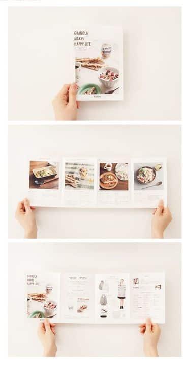 como diseñar un folleto desplegable