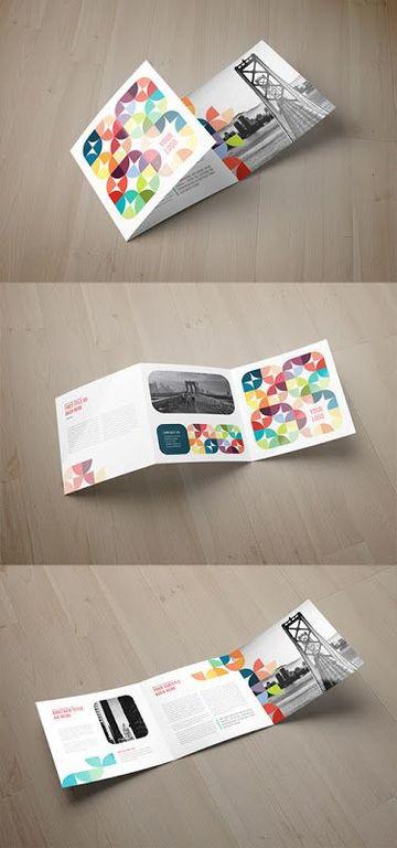 como diseñar un folleto triptico